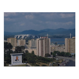 View of Pyongyang, North Korea Postcard