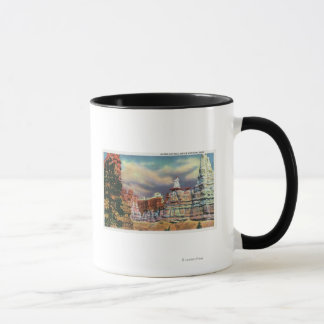 View of Queen Victoria Rock Formation Mug