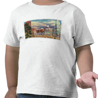 View of Queen Victoria Rock Formation T-shirt