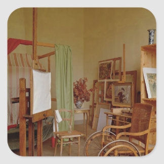 View of Renoir's studio, used from 1907 Square Sticker
