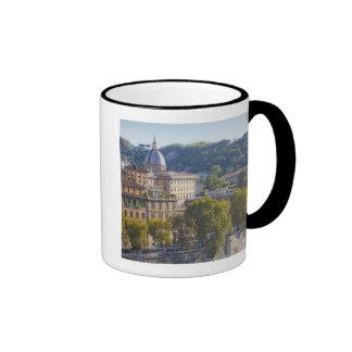 View of Rome from Castel Sant' Angelo Ringer Mug