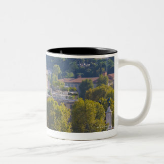 View of Rome from Castel Sant' Angelo Two-Tone Coffee Mug