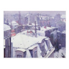View of Roofs  or Roofs under Snow, 1878 Postcard