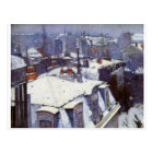 View of Roofs (Snow Effect) or Roofs under Snow Postcard
