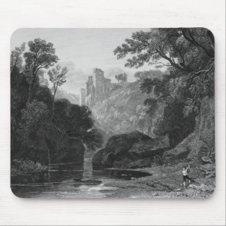 View of Roslin Castle Mouse Mat