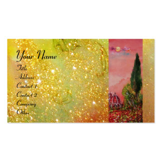 VIEW OF SAINT MARY OF FLOWER / FLORENCE IN SUNSET PACK OF STANDARD BUSINESS CARDS