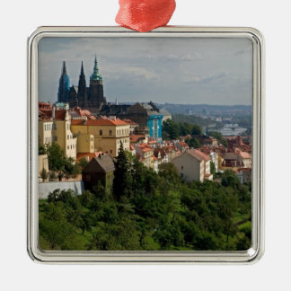 View of Saint Vitus's Cathedral, Prague, Czech Christmas Ornament