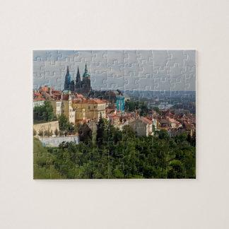 View of Saint Vitus's Cathedral, Prague, Czech Jigsaw Puzzle