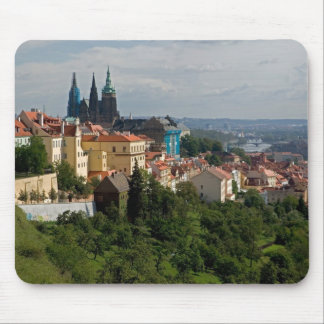 View of Saint Vitus's Cathedral, Prague, Czech Mouse Mat