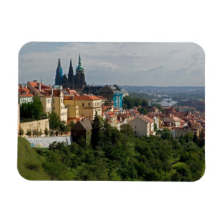 View of Saint Vitus's Cathedral, Prague, Czech Rectangular Photo Magnet