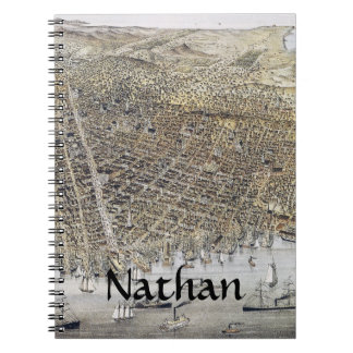 View Of San Francisco, 1878 Notebook