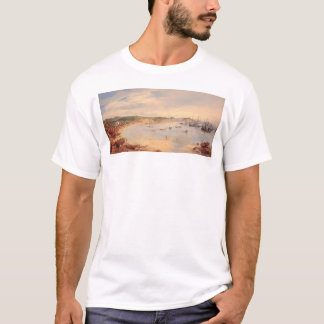 View of San Francisco, California Harbor (0575A) T-Shirt