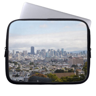 View of San Francisco skyline Laptop Sleeve