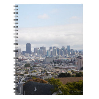 View of San Francisco skyline Notebook