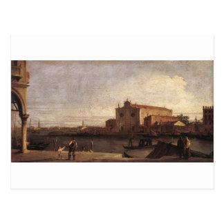 View of San Giovanni dei Battuti at Murano Postcard