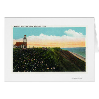 View of Sankaty Head Lighthouse Greeting Card