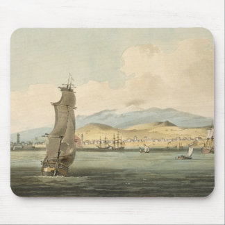 View of Santa Cruz, plate 3 from 'A Voyage to Coch Mouse Pad