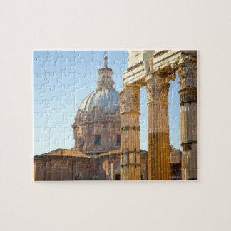 View of Santi Luca e Martina in the Roman Forum Puzzle