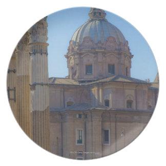 View of Santi Luca e Martina Plates