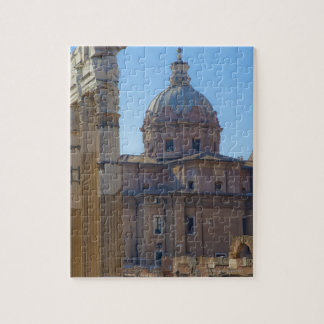 View of Santi Luca e Martina Puzzles