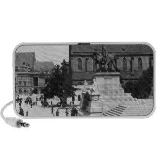 View of Schweidnitz, Breslau  Poland, c.1910 Portable Speaker