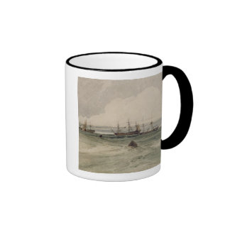 View of Sheerness (w/c over graphite on paper) Coffee Mug