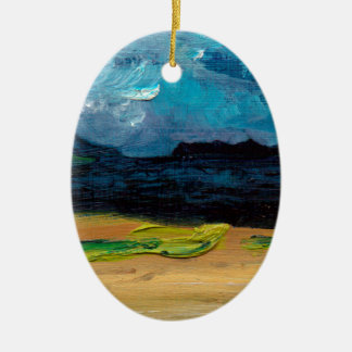 View of Skye Ceramic Oval Decoration
