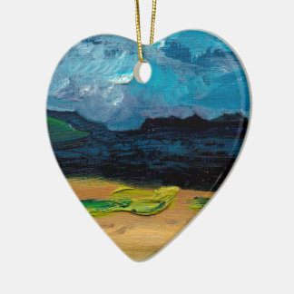 View of Skye Christmas Ornament