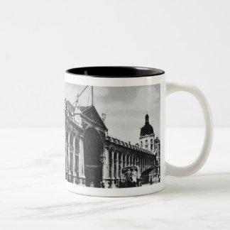 View of Smithfield Meat Market, c.1905 Two-Tone Coffee Mug