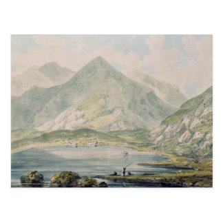 View of Snowdon Postcard