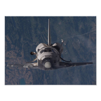 View of Space Shuttle Discovery from ISS (STS-114) Poster