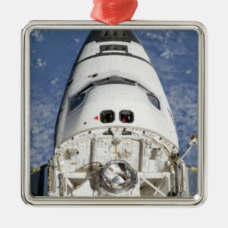 View of space shuttle Endeavour's crew cabin Christmas Ornament