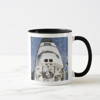 View of space shuttle Endeavour's crew cabin Mug