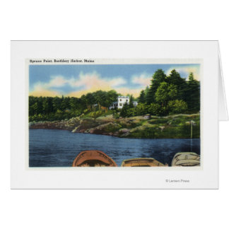 View of Spruce Point Card