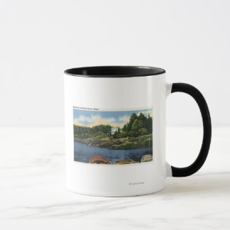 View of Spruce Point Mug