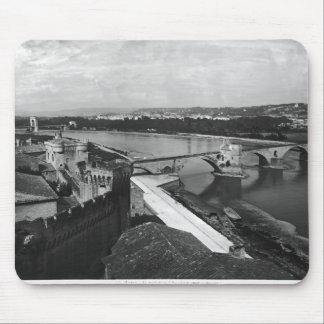 View of St. Benezet Bridge Mouse Mat