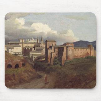 View of St. John Lateran, Rome, 1822 Mouse Mat