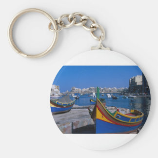 View of St. Julian, Malta Key Ring