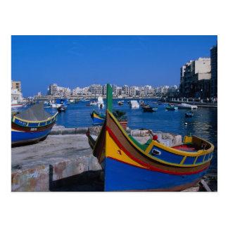 View of St. Julian, Malta Postcard