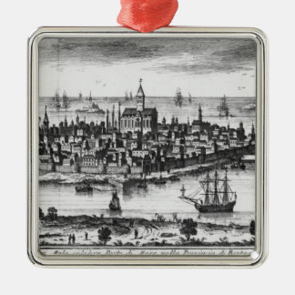 View of St. Malo Christmas Ornament
