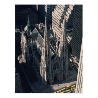 View of St. Patrick's Cathedral Postcard