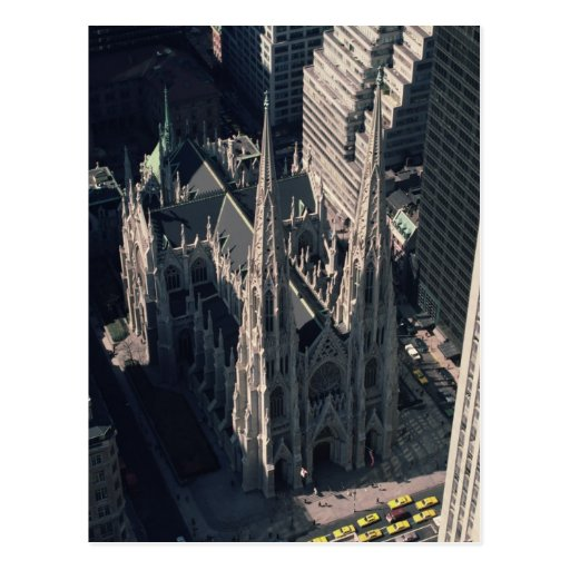 View of St. Patrick's Cathedral Postcards