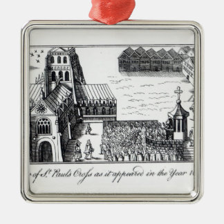 View of St. Paul's Cross Christmas Ornament