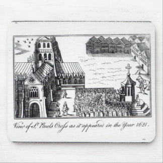 View of St. Paul's Cross Mouse Mat