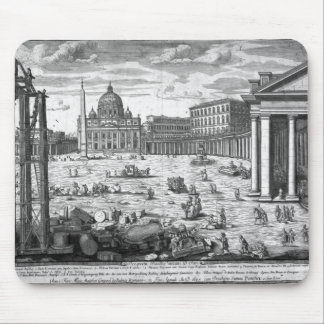 View of St. Peter's, Rome Mouse Mat