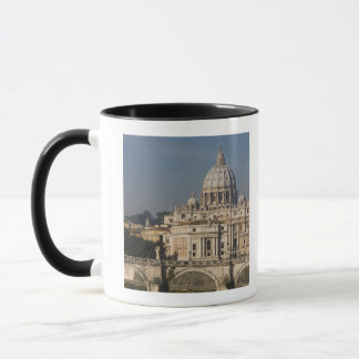 View of St Peter's with the Ponte sant' Angelo Mug