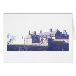 View of Stirling Castle Card