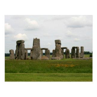 View of Stonehenge Postcard