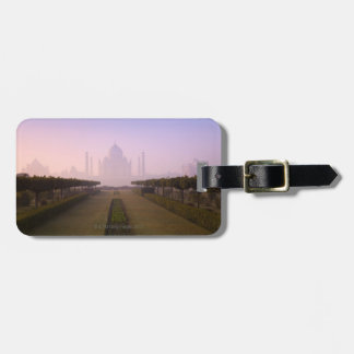 View of Taj Mahal at Sunrise Luggage Tag