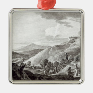 View of Tarquinia and Corneto Christmas Ornament
